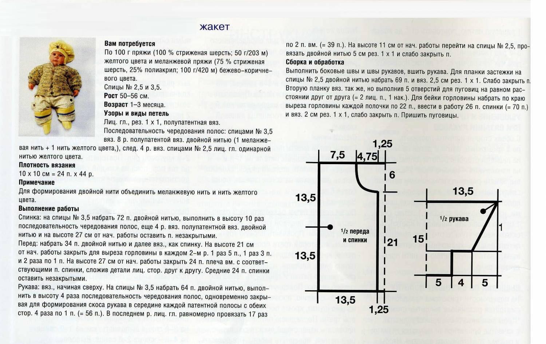 Вязание без швов спицами, модели с описанием - Вяжи. ру 98