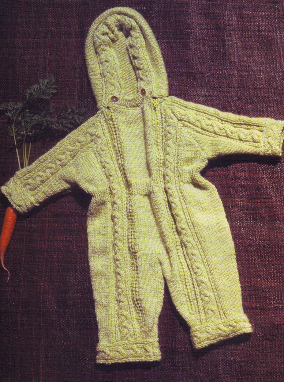 Вязание спицами реглан комбинезон